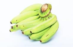 biały tło banany Fotografia Stock