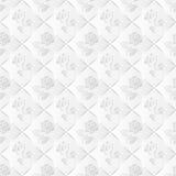 Biały tło bezszwowy Obraz Royalty Free