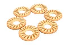 biały tło ciastka Obraz Royalty Free