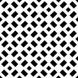 Biały tło i czerń repeted wzór Obrazy Royalty Free