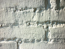 Biały tło lub ściana z cegieł fotografia royalty free