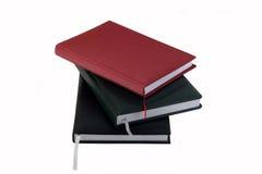 biały tło notatniki Zdjęcie Royalty Free