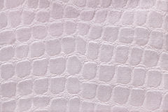 Biały tło od miękkiego tapicerowania tekstylnego materiału, zbliżenie Zdjęcia Royalty Free