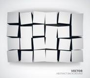 Biały tło szablon Fotografia Stock
