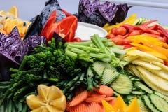 biały tło warzywa świezi odosobneni półkowi zdjęcie stock
