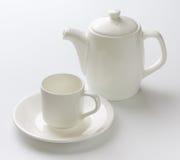Filiżanka i teapot Zdjęcie Royalty Free