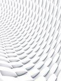 Biały tekstury powierzchni wzór świadczenia 3 d Obraz Royalty Free