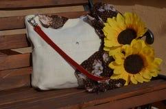 Biały torby zakończenie zdjęcia stock