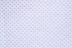 Biały włókno tekstury tło Obraz Royalty Free
