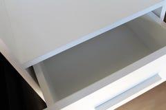 Biały wezgłowie Meblarska manufaktura Obrazy Stock