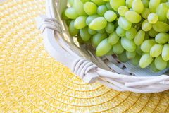Biały winogrono - Pizzutello zdjęcia stock