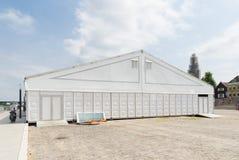 Biały wydarzenie namiot Fotografia Royalty Free