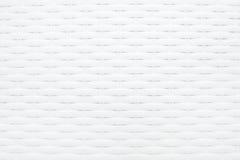 Biały wyplatający deseniowy tło Zdjęcie Royalty Free