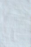biały wzór wyplatająca sztuki tkaniny tekstura dla tła Obraz Royalty Free