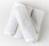 biały zdrojów ręczniki Obraz Royalty Free