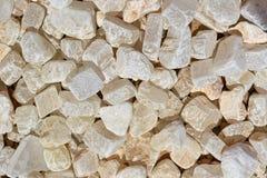 Białych otoczaków tła i tekstury kamienna fotografia Fotografia Stock