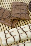 biała czekolada Zdjęcia Stock