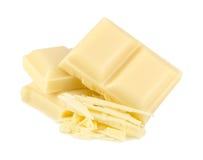 Biała czekolada Zdjęcie Stock
