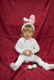 Biała dziewczynka Fotografia Royalty Free