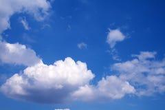białe chmury Zdjęcie Royalty Free