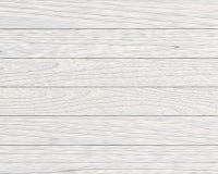 Białe drewniane deski Ilustracji