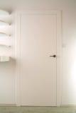 białe drzwi Zdjęcie Royalty Free