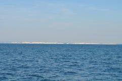 Białe falezy przy morzem Obraz Stock