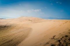 Białe piasek diuny, Mui Ne Obrazy Stock