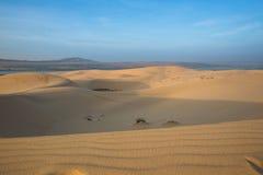 Białe piasek diuny - Mui Ne, Wietnam Obraz Royalty Free