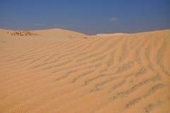 Sandy pustynia w Mui Ne, Wietnam Fotografia Stock