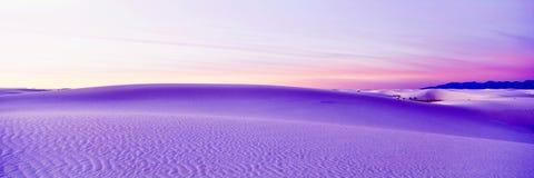 białe piaski Fotografia Royalty Free