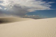 białe piaski Obrazy Royalty Free