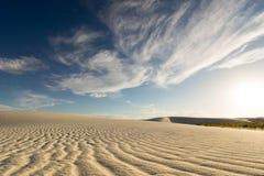 białe piaski Obraz Stock