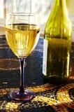 białe wino dachówkowy Fotografia Stock