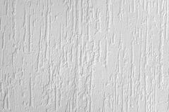 Białego Dekoracyjnego polimer apretury tynku Lub ciecz tapety b Obraz Stock