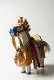 białego konia drewno Fotografia Royalty Free