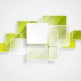 Białego kwadrata element Na lampasa tle Obraz Stock