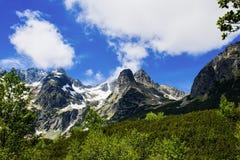 Białej wody dolina 02 Zdjęcie Royalty Free