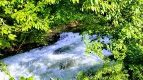 Białej wody piękno fotografia royalty free