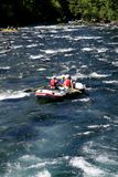 Białej wody Rzeczny flisactwo Obraz Royalty Free