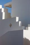 Biała fasada budynek w Egipt Zdjęcie Stock