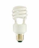 Biała fluorescencyjna lampa obrazy royalty free