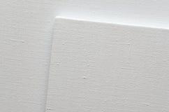 Biała kanwa Obraz Stock