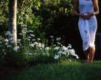 biała kobieta Obraz Royalty Free