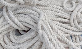 Biała linowa tekstura zdjęcie royalty free