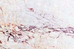 Biała mable tekstura Zdjęcie Royalty Free