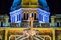 Biała noc Melbourne 2015 Obrazy Stock