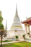 Biała pagoda Fotografia Stock