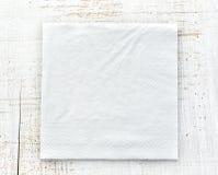 Biała papierowa pielucha Fotografia Royalty Free