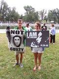 Biała para dla Trayvon Martin Zdjęcie Stock